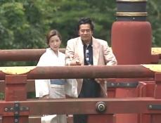 お互いの家族の嘘をついて日光に旅行している久木と凜子