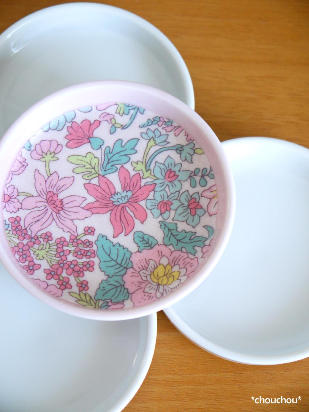 小皿 ピンク 白