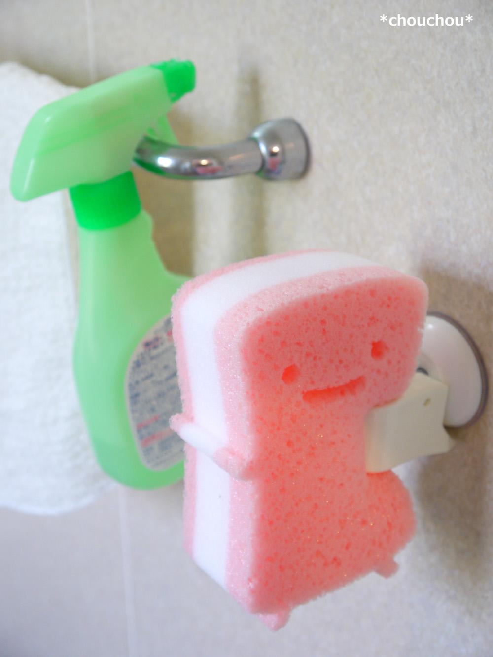 シャワーフック スポンジ