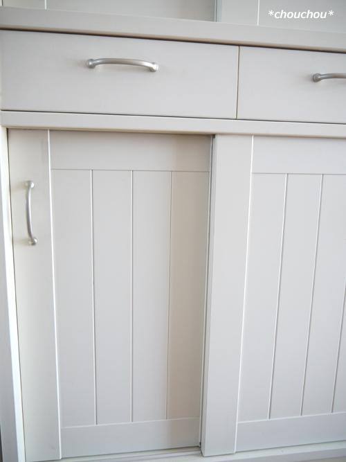 食器棚 引き戸