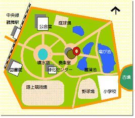鶴舞奏楽堂マップ