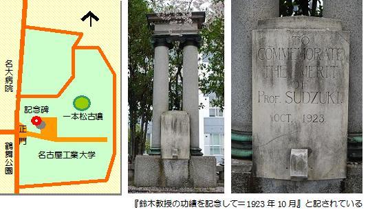 鈴木禎次記念碑マップ