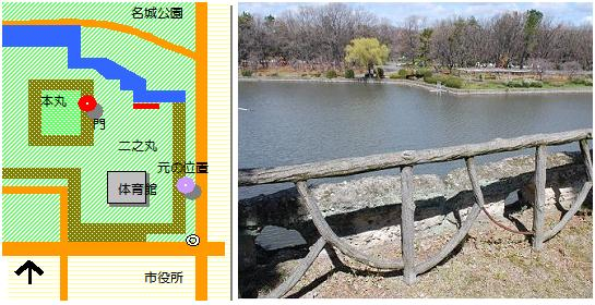 名古屋城二の丸マップ