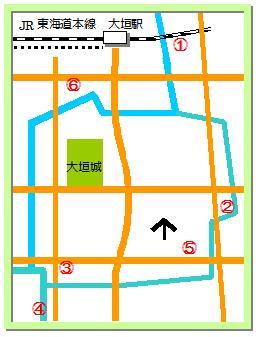 大垣記念碑マップ