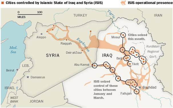 Iraq_ISIS_The Institute for the Study of WarThe Long War JournalThe Washington PostJune 11