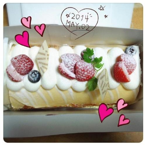 間違いのケーキ