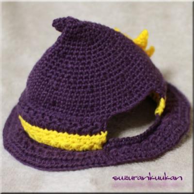 ハロウィン帽子001 右横から