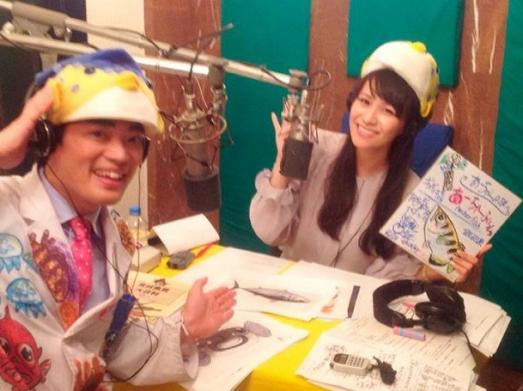 さかなクンが第1回目の、あ~ちゃんラジオのゲスト!!の画像   Perfumeとグルメの日記