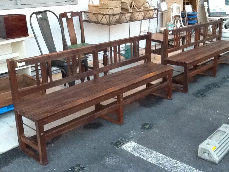 木製 ベンチ 長い ナチュラル 椅子