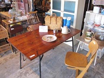 リデザイン家具 テーブル リメイク