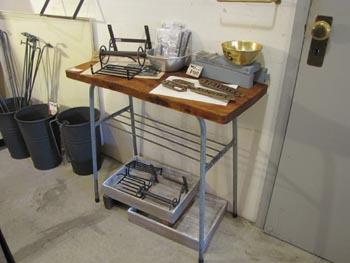 リデザイン家具 テーブル サイドテーブル リメイク