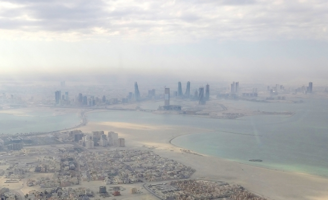 Manama from Air