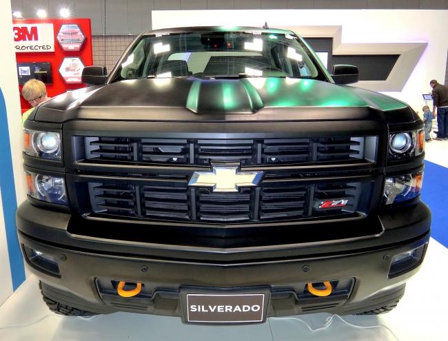 New Silverado Front