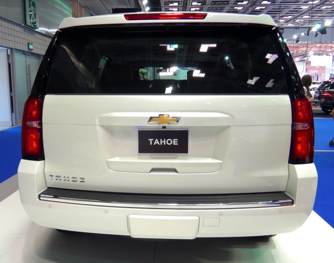 New Tahoe Rear