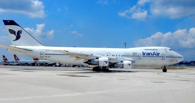 イラン航空B747-200