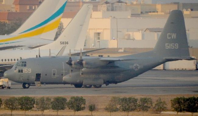 C-130 CW5159 バーレーン空港