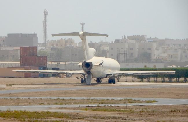 B727 Bahrain Airport 2