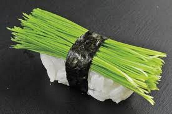 芽ネギ寿司