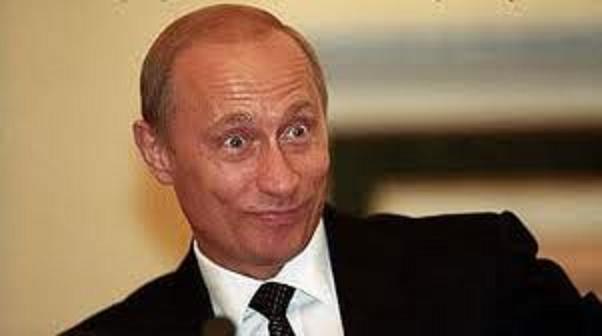プーチンびっくり