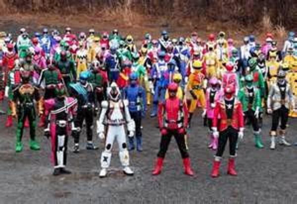 スーパーヒーロー大戦集合