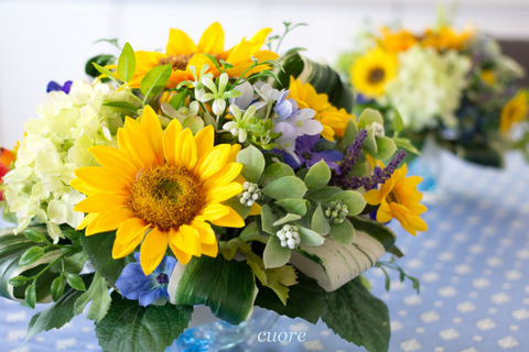 sunflower arrange summer_201406