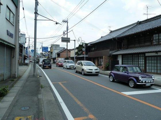 小川町中心部