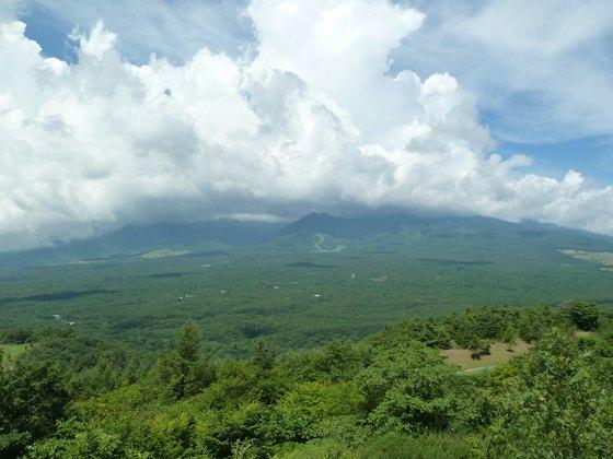 しし岩から眺める八ヶ岳