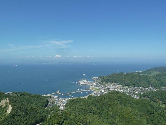 鋸山山頂からの眺め