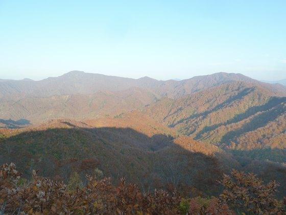 枝折峠からの眺め