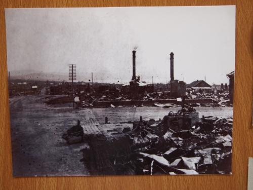 戦乱で崩壊した当時の尼港