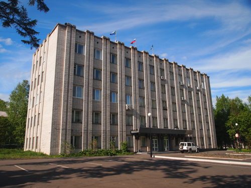 現在のニコラエフスク市役所