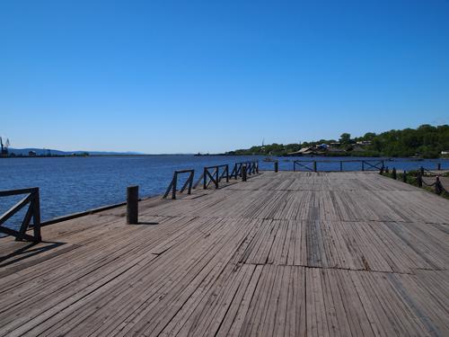 現在の桟橋