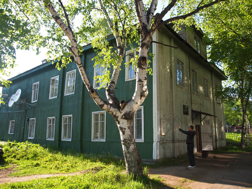 赤軍パルチザン本部建物