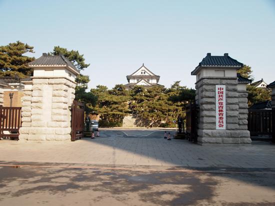 旧関東軍司令部跡 満州国建国とともに司令部は旅順から新京に移された。(吉林省・長春市)