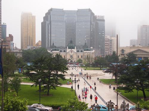大連大広場 現在は中山広場と呼ばれている