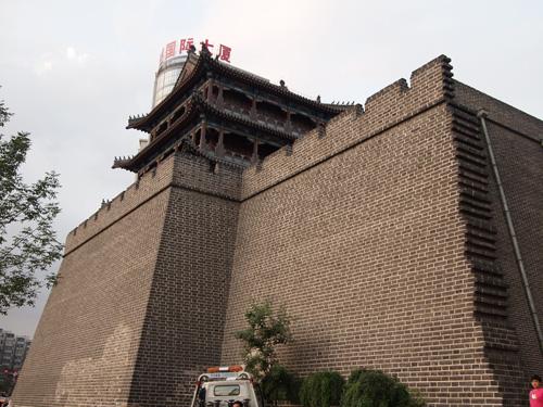 現存する奉天城の城壁