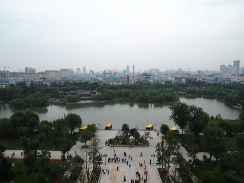 済南城の景色