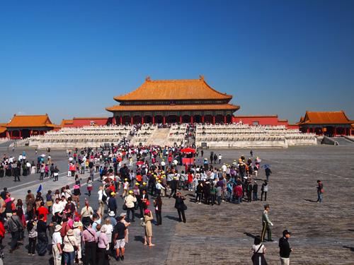 紫禁城 北京市