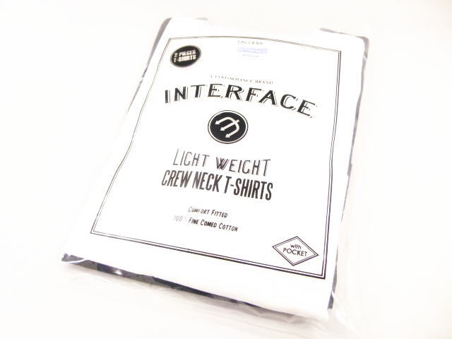 INTERFACE 2PACK CREW POCKET TEE