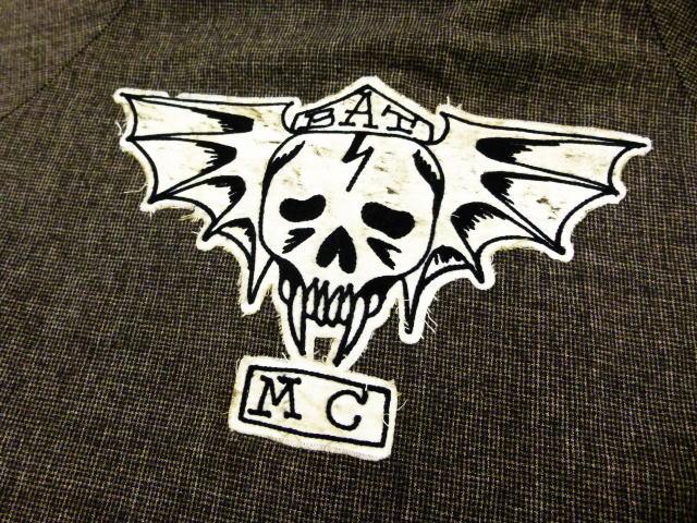 GANGSTERVILLE BAT MC JKT