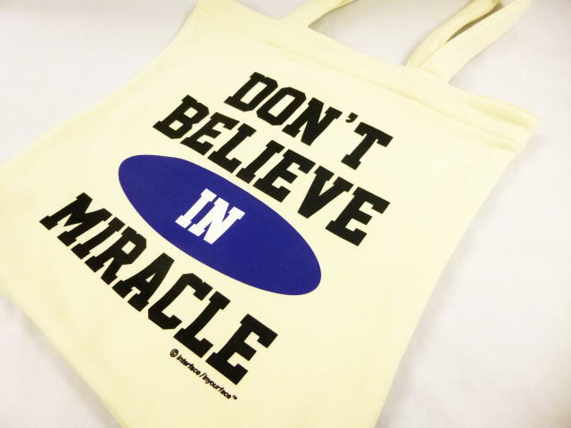 INTERFACE DON'T BELIEVE TOTE BAG