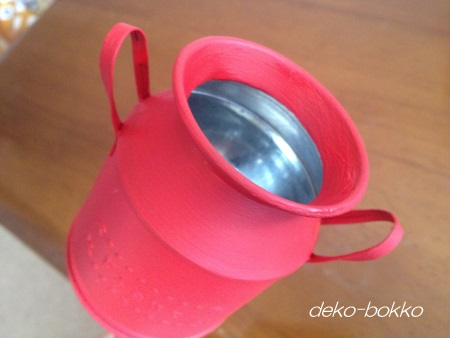 セリア ミルク缶