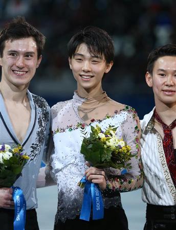 羽生が金メダル!ソチ五輪で日本初!フィギュア日本男子初・海外冬季五輪で4個目・被災地に贈る金