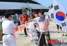 韓国人犯罪者崔在翼は警察に守られ松江入り