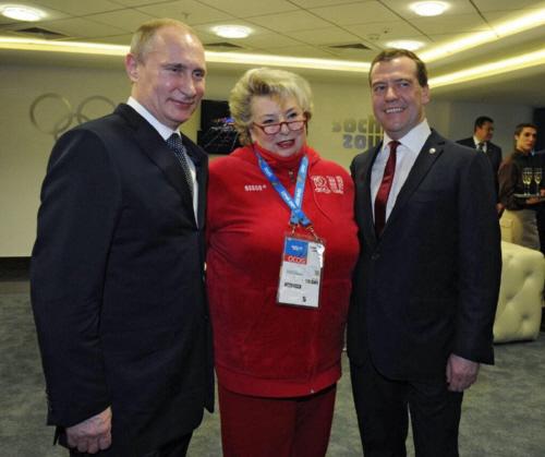 タラソワはフィギュアスケートの偉い人