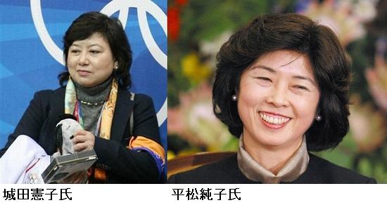 城田憲子氏フィギュア委員長の平松純子