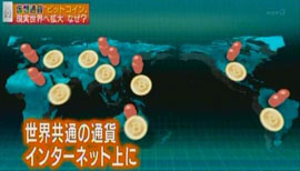 そこで、国家の枠組みを超え、世界共通の通貨をインターネット上に作ろうと考えました。