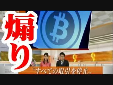 謎のビットコインを特集するNHK