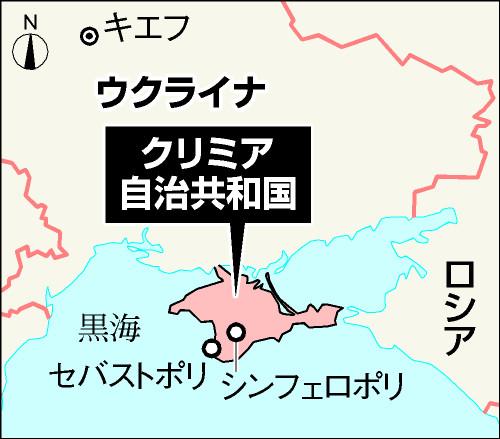 ウクライナ共和国とクリミア自治共和国