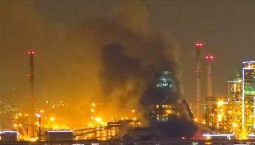 ポスコの製鉄所が大爆発!インドネシア・12月に稼働2日で事故→全面停止→2月22日大爆発炎上